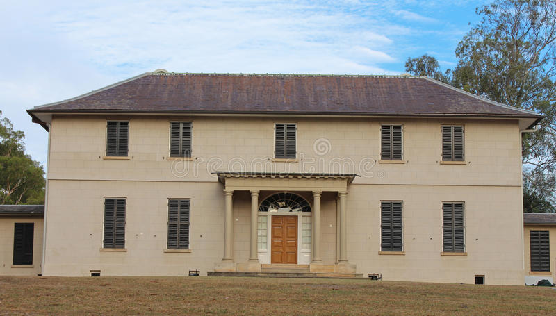 Old Government House, Parramatta, Sydney stock photo