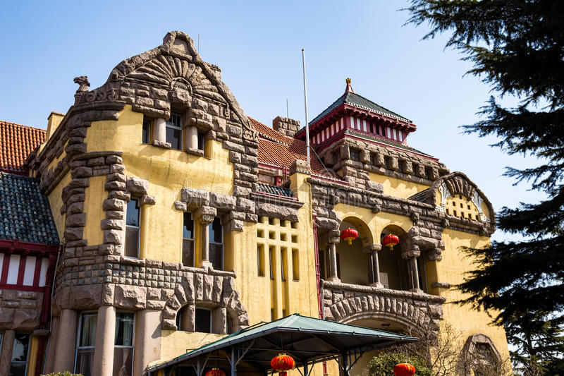 Download Old Governors House In Qingdao China Stock Photo