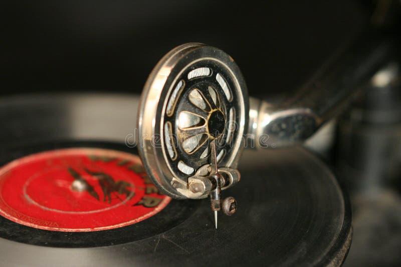 Old gramophone royalty free stock image