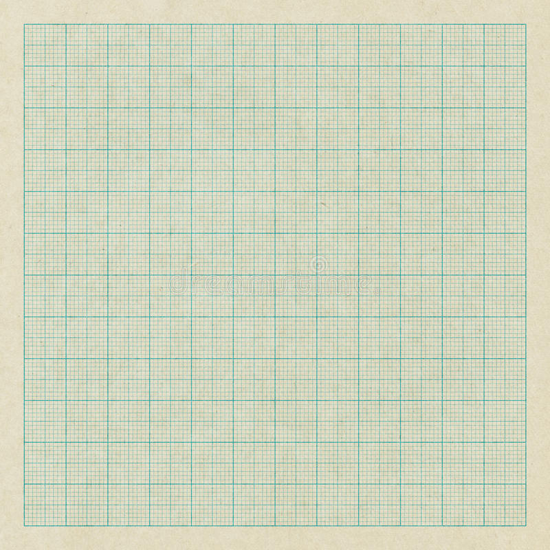 Old graph paper. As background royalty free stock images