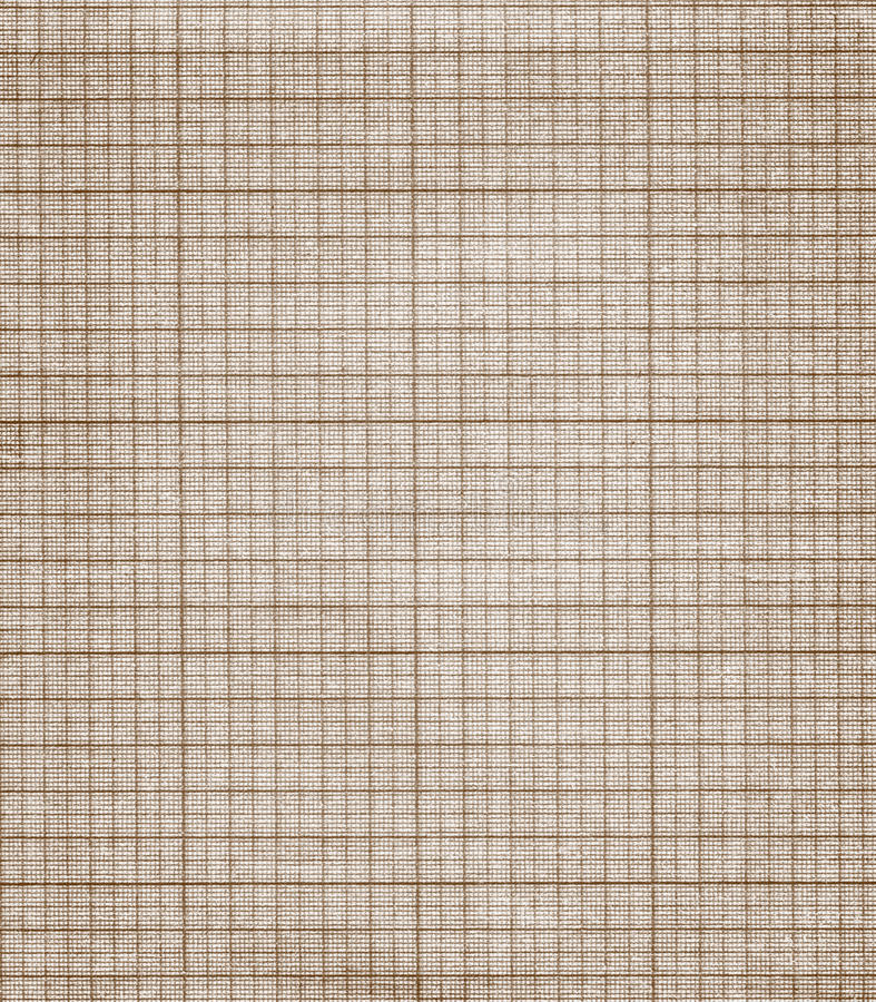 Old graph paper texture. Scanned old graph paper texture. Background for any scheme royalty free stock photography