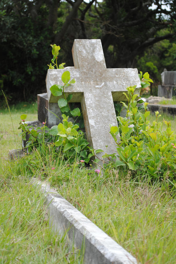 Old grave site royalty free stock image
