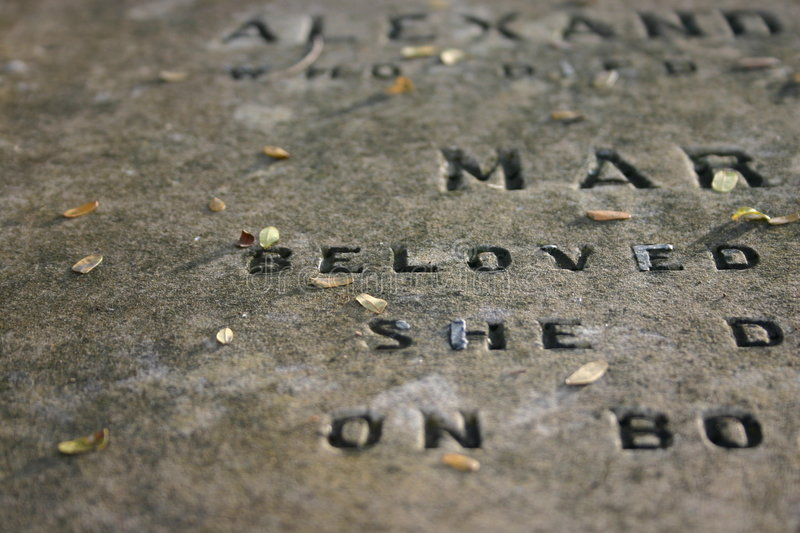 Download Old Gravestone (1800's) stock photo. Image of penang, malaysia - 36318