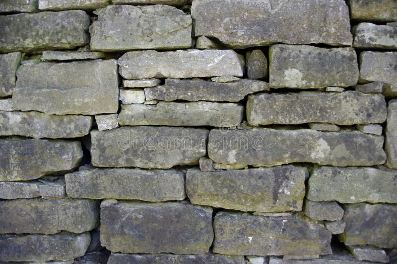 Old stone brick wall royalty free stock photo