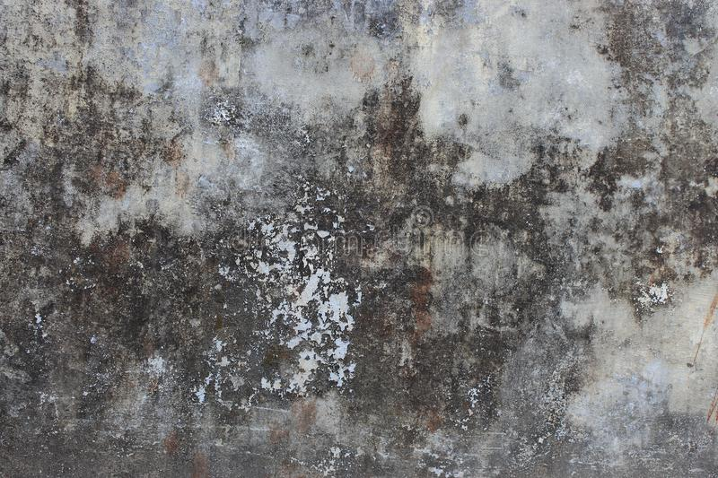 Old gray grunge cement wall as vintage aged concrete texture background. stock images