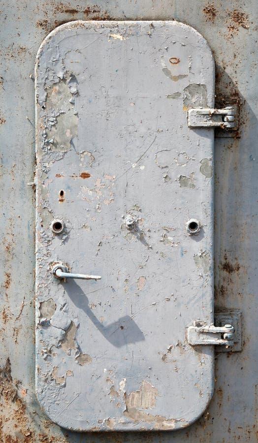Free Old Gray Ship S Door Royalty Free Stock Image - 26124406
