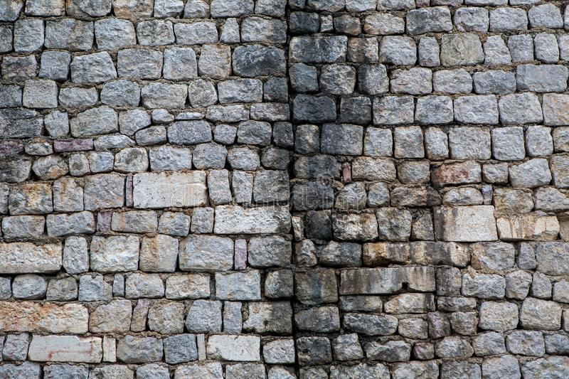 Old gray wall stock photography