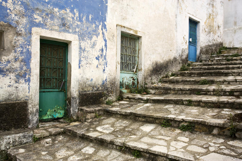 Download Old greek village stock photo. Image of stairway, greek - 11254016