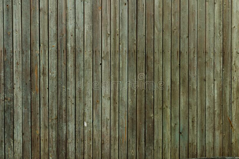 Old green boards. royalty free stock photo