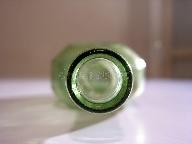 Download Old green bottle stock photo. Image of stained, glass, syrup - 45158
