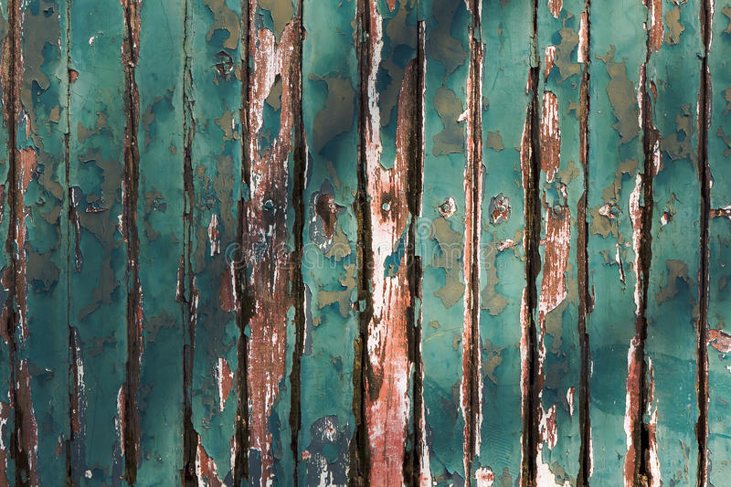 Download Old Green Chipping Wood Wall Royalty Free Stock Image - Image: 18067846