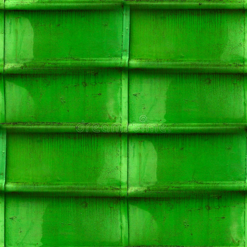 Old green iron attrition seamless background. Wallpaper stock photography