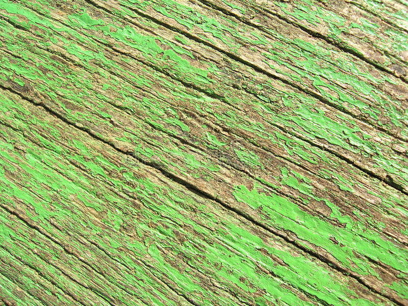 Old green paint royalty free stock images