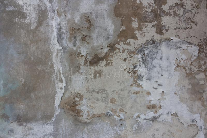 Old grey cement  texture with crack,use as a background stock images