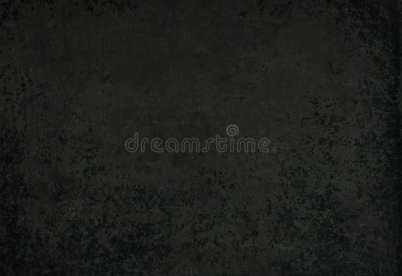 Old grunge black background. stock images