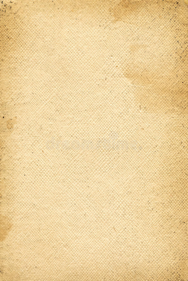 Old grunge canvas paper texture stock image