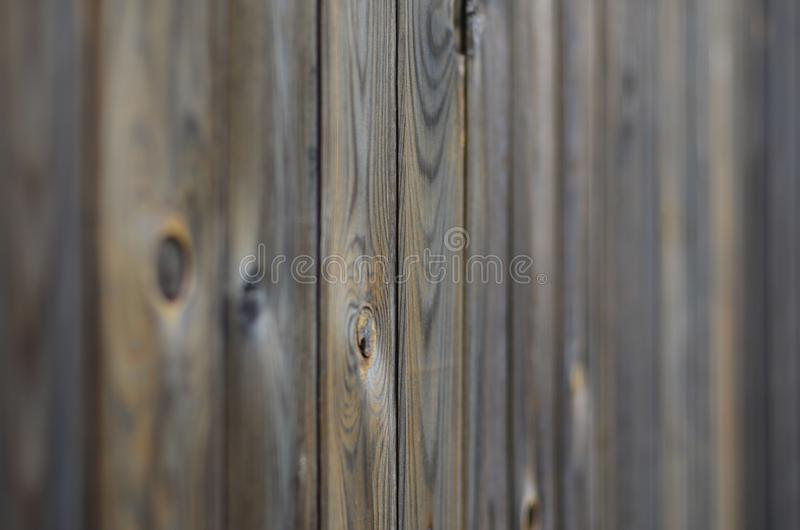 Old grunge dark brown wood panel pattern with beautiful abstract grain surface texture, vertical striped background or backdrop i. N architectural material stock image