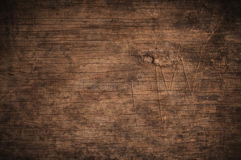 Old grunge dark textured wooden background,The surface of the old brown wood texture,top view brown wood paneling. Old grunge dark textured wooden background,The stock photos