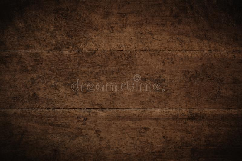 Old grunge dark textured wooden background,The surface of the old brown wood texture royalty free stock photos