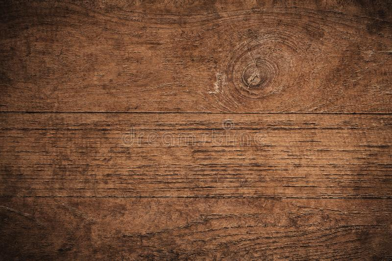 Old grunge dark textured wooden background,The surface of the old brown wood texture,top view brown teak wood paneling royalty free stock images