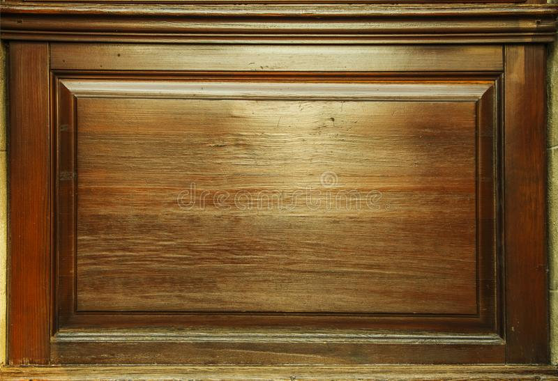 Old grunge dark textured wooden background,The surface of the old brown wood texture,top view brown wood panelitng royalty free stock photo