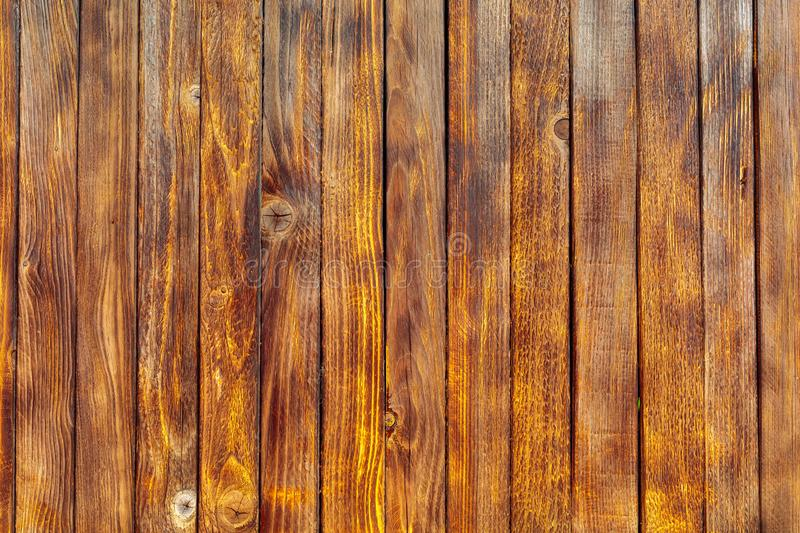 Old pine wood background, top view stock image