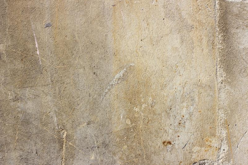 Old grunge dirty cracked vintage light gray concrete and cement mold texture wall or floor background with weathered paint. And scratches royalty free stock photos