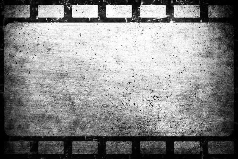 Old grunge film frame. Vintage background royalty free stock photos