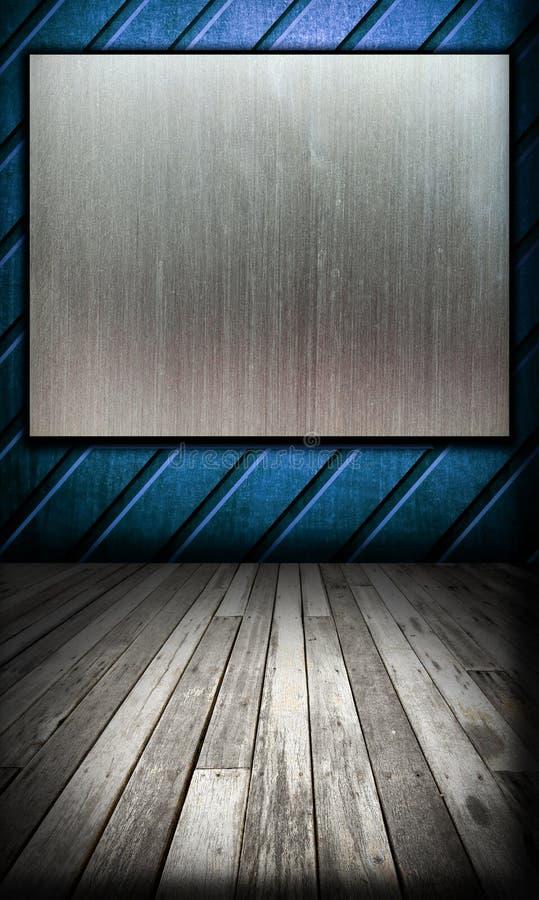 Download Old Grunge Interior, Wooden Floor Stock Image - Image: 16424417