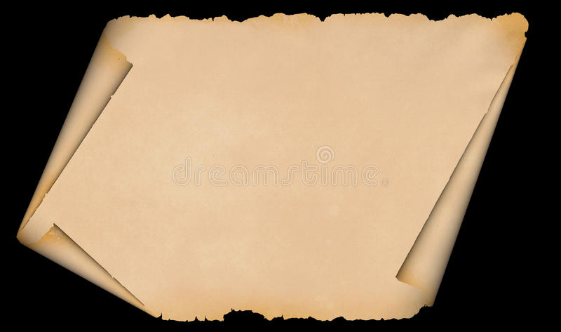 Old grunge paper. stock photos