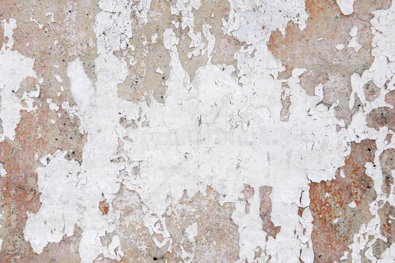 Old grunge posters paper surface texture background.  royalty free stock image