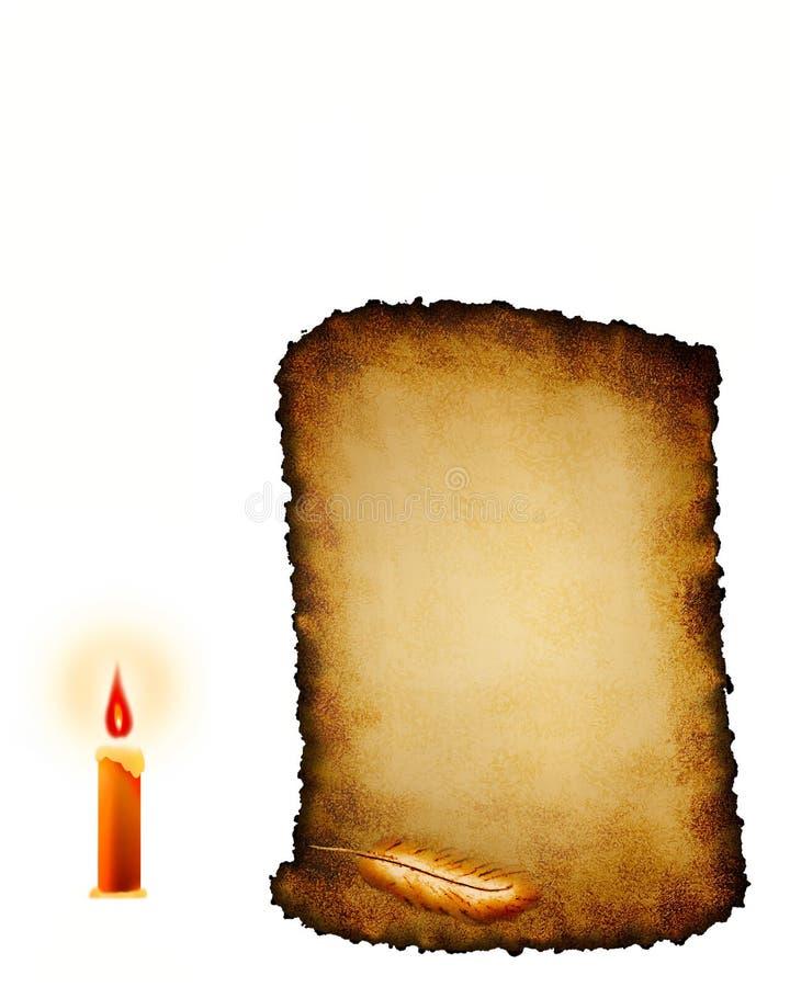 Old Grunge Scroll vector illustration