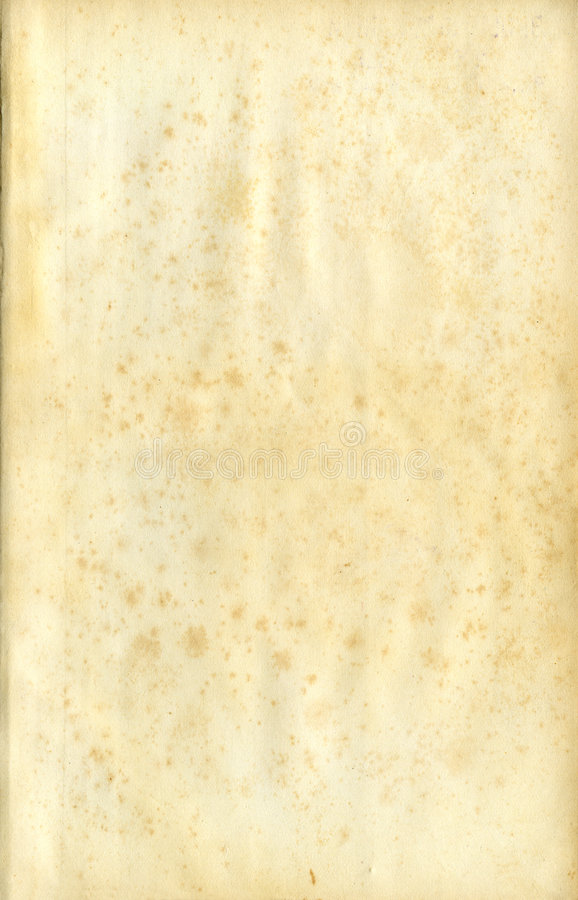 Old Grunge, Stained Paper Royalty Free Stock Photography