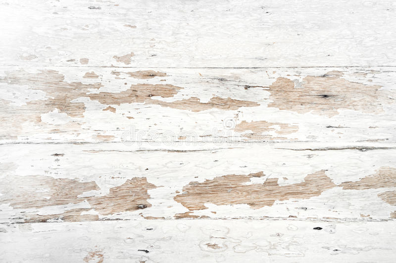 Old and grunge white wood texture stock images