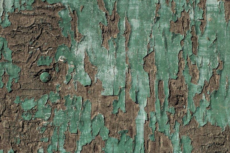 Old, Grunge Wood Panels Used As Background Stock Image