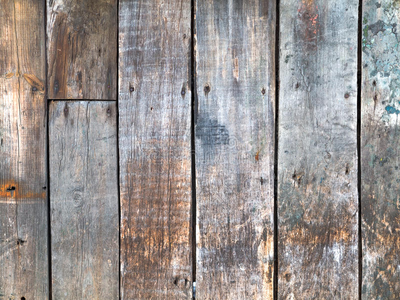 Old, grunge wood used background stock image