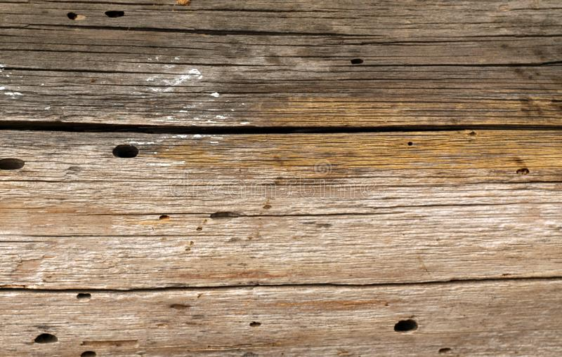 Old grunge wooden fence pattern. Abstract background and texture for design, vintage, weathered, timber, wall, tree, carpentry, natural, painted, materials stock photo