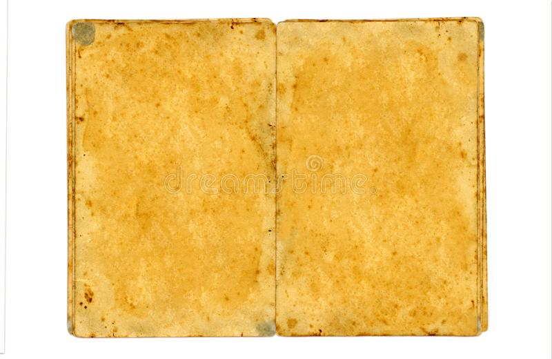 Old grungy book stock image
