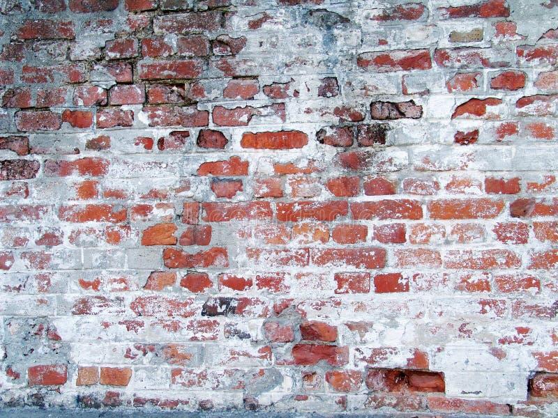 Old grungy brick wall stock image