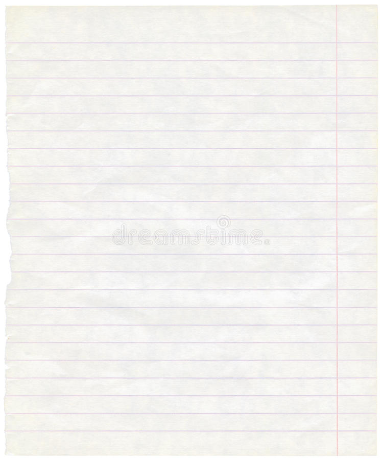 Free Old Grungy Lined Exercise Note Paper Texture Royalty Free Stock Photos - 16386808