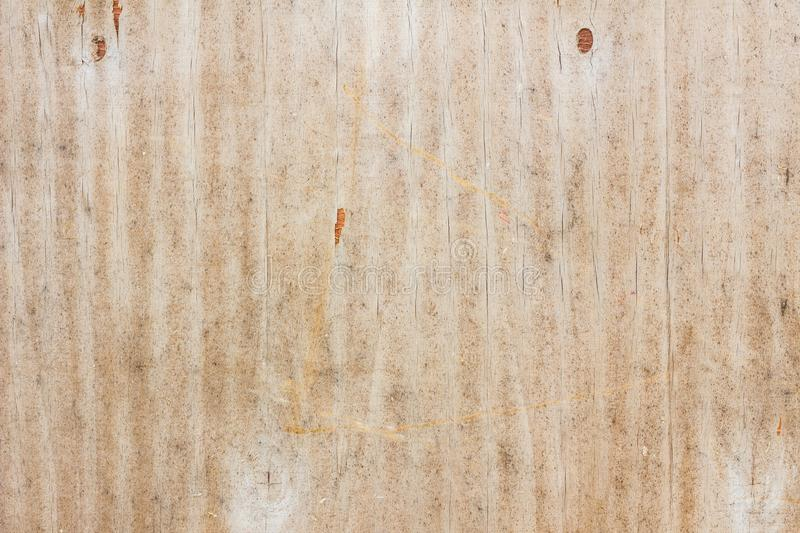Old grungy plywood material surface textured background royalty free stock images