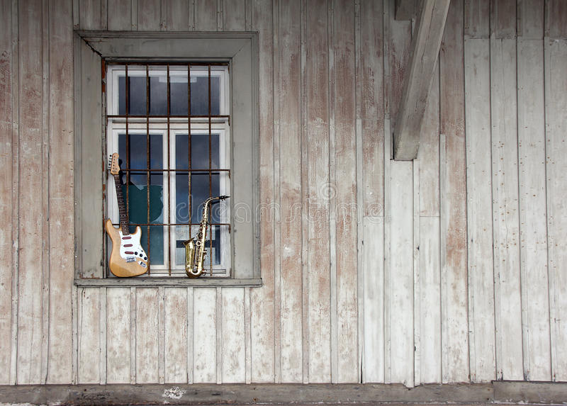 Download Old Grungy Saxophone Stock Photo - Image: 21574550