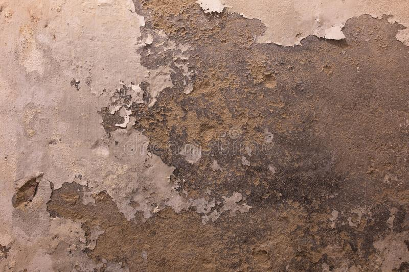Old grungy stone wall texture background rusty spots stock photos
