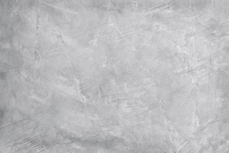 Old grungy texture, white grey color concrete cement wall with detail of rough stucco and crack for background and design art work royalty free stock image