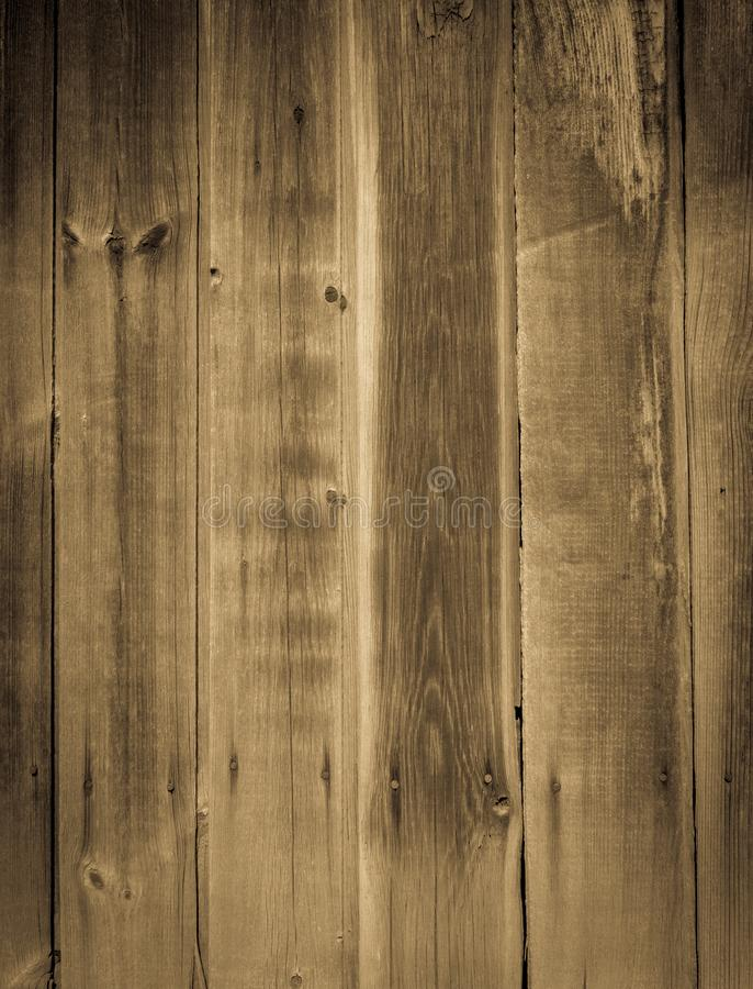 Old shabby planks of wooden wall royalty free stock photography