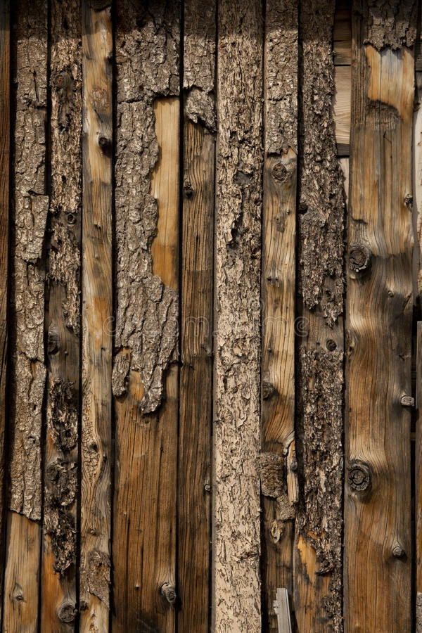 Old Grungy Wood Barn Board Wall Texture Royalty Free Stock