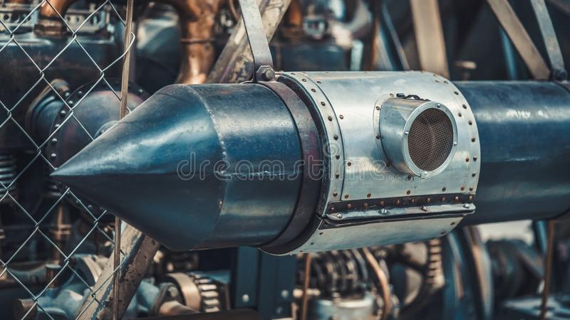 Old Guided Missile Weapon Collectible royalty free stock photos