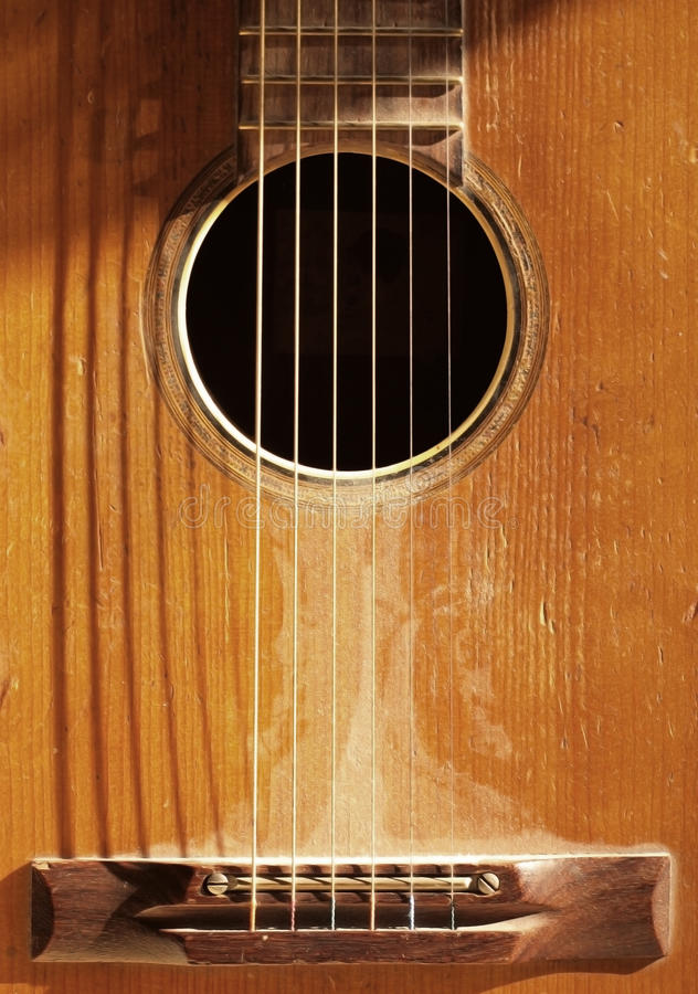 Free Old Guitar Stock Photography - 11088932
