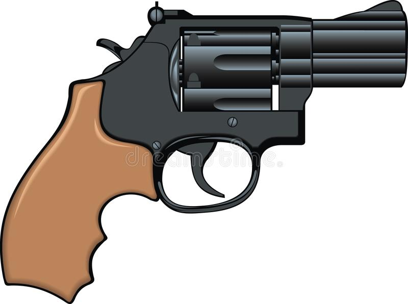 Download Old gun stock vector. Illustration of antique, isolated - 10635361