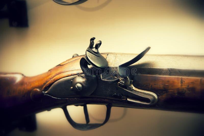 Old gun stock photo